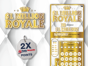 $10 Royale Scratch Ticket 2X pts